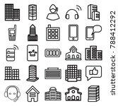 center icons. set of 25...   Shutterstock .eps vector #788412292