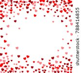 valentines day vector background | Shutterstock .eps vector #788416855