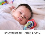 2 months old lovely baby... | Shutterstock . vector #788417242
