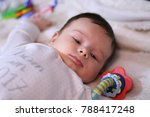 2 months old lovely baby... | Shutterstock . vector #788417248