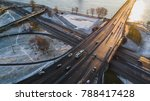 aerial view on riga elevated... | Shutterstock . vector #788417428