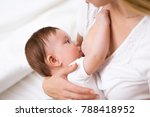 mother breast feeding and... | Shutterstock . vector #788418952