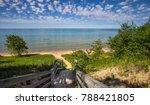 Sunny Summer Beach Background....