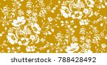 seamless floral pattern in... | Shutterstock .eps vector #788428492