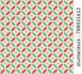 seamless intersecting geometric ... | Shutterstock .eps vector #788431612