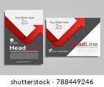 book album brochure flyer cover ...   Shutterstock .eps vector #788449246