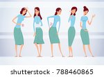 different kinds of female... | Shutterstock .eps vector #788460865