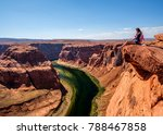 Tourist At Horseshoe Bend On...