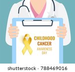 close up of a female doctor... | Shutterstock .eps vector #788469016
