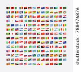 flags of the world | Shutterstock .eps vector #788476876
