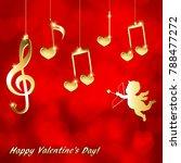 musical background for... | Shutterstock .eps vector #788477272