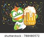 thai giant cartoon vector... | Shutterstock .eps vector #788480572