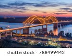 memphis  tennessee  usa at... | Shutterstock . vector #788499442