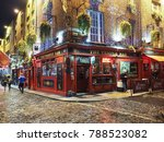 the temple bar  dublin  ireland ...   Shutterstock . vector #788523082
