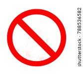sign warning background | Shutterstock . vector #788536582