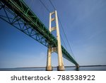 The Mackinac Bridge. Close Up...