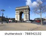 paris  france   march 02  2016  ... | Shutterstock . vector #788542132