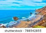 benijo beach  playa benijo  in... | Shutterstock . vector #788542855