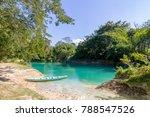 cascada tamul huasteca potosina | Shutterstock . vector #788547526