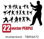 Vector Set Of 22 Very Detailed...