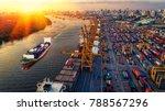logistics and transportation of ...   Shutterstock . vector #788567296