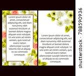 vintage delicate invitation... | Shutterstock .eps vector #788590936