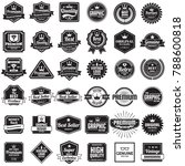 vintage retro vector logo for... | Shutterstock .eps vector #788600818