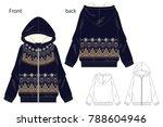 vector illustration of full zip ...   Shutterstock .eps vector #788604946