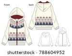 vector illustration of full zip ...   Shutterstock .eps vector #788604952