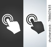 touch hand icon | Shutterstock .eps vector #788607655
