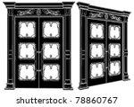 door vector 05   Shutterstock .eps vector #78860767