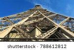 eiffel tower  paris  france ... | Shutterstock . vector #788612812