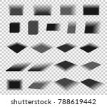 box and paper shadow with soft... | Shutterstock .eps vector #788619442