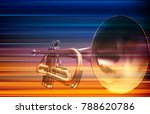 abstract blur music background... | Shutterstock .eps vector #788620786