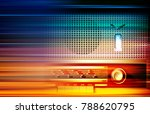 abstract blur music background... | Shutterstock .eps vector #788620795