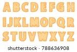 Alphabet Biscuit Plain