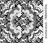 vector illustration of dynamic... | Shutterstock .eps vector #788645506