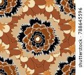 islamic vector oriental... | Shutterstock .eps vector #788645596