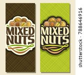 vector banner for nuts  cut... | Shutterstock .eps vector #788646916
