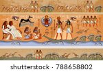 Ancient Egypt Scene  Mythology...