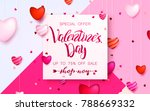 happy holidays  valentines day... | Shutterstock .eps vector #788669332