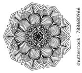 mandalas for coloring book.... | Shutterstock .eps vector #788680966
