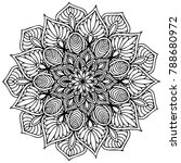 mandalas for coloring book.... | Shutterstock .eps vector #788680972