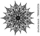 mandalas for coloring book.... | Shutterstock .eps vector #788681026