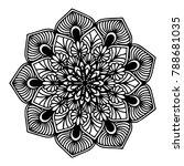 mandalas for coloring book....   Shutterstock .eps vector #788681035