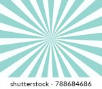 blue sunburst pattern... | Shutterstock .eps vector #788684686