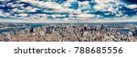 midtown manhattan aerial... | Shutterstock . vector #788685556