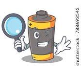 detective battery character... | Shutterstock .eps vector #788693542