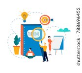 professional training ... | Shutterstock .eps vector #788696452