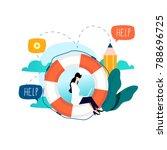 customer service  customer... | Shutterstock .eps vector #788696725